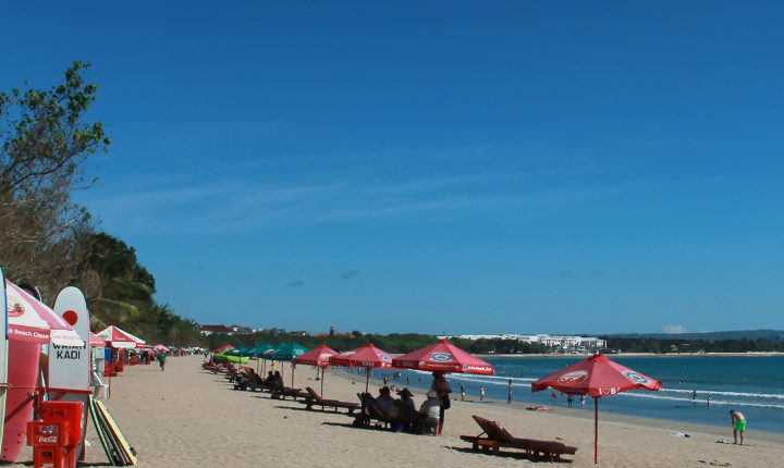Kuta Beach, the symbol of tourism in Bali