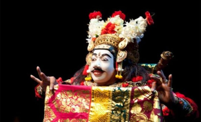 Pajegan Mask, Drama of Balinese Dance