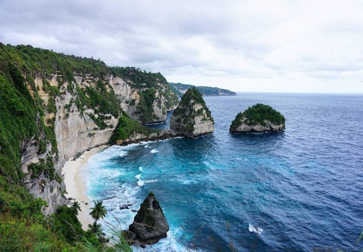 Atuh Beach Nusa Penida, the hills like Raja Ampat