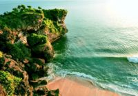 Balangan Uluwatu Bali Beach, beautiful sand and coral