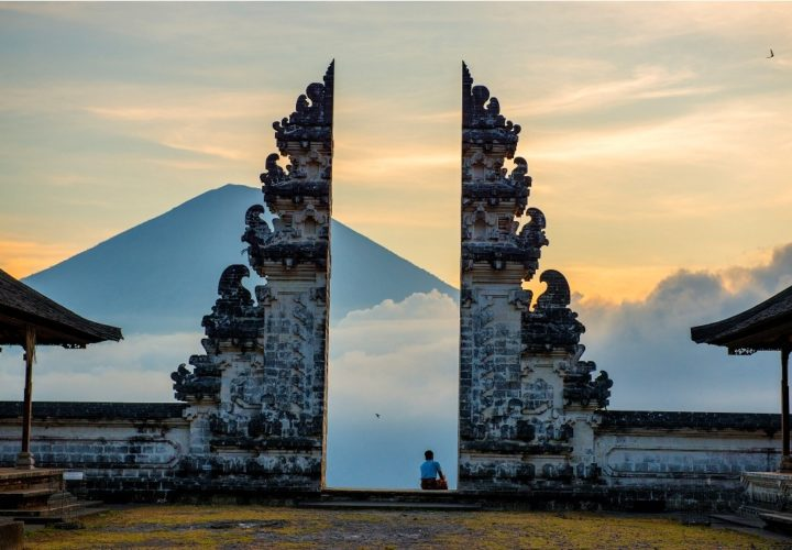 The splendor of Lempuyangan Bali Temple