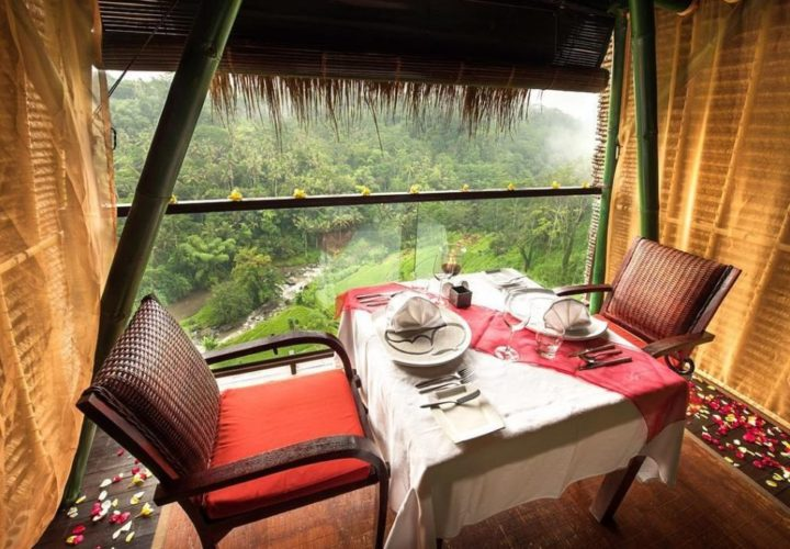 La View Restaurant Ubud, Romantic Dining Spot