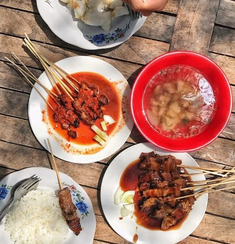 Special Balinese Plecing Satay, Tasty Spicy Food Lovers