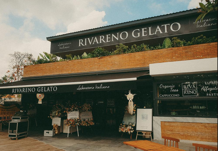 Enjoy Traditional Italian Gelato at  RivaReno Seminyak